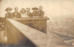 CARTE PHOTO 67 STRASBOURG VUE PRISE DU HAUT DE LA PLATEFORME 1920 - Strasbourg