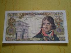 Billet De 10000 Francs Napoléon Bonaparte Du 6.12.1956; G 47 - 1871-1952 Circulated During XXth