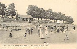 - Depts Div.-ref-RR429- Somme - Saint Valery Sur Somme - St Valery Sur Somme - Les Bains De La Ferte - Carte Bon Etat - - Saint Valery Sur Somme