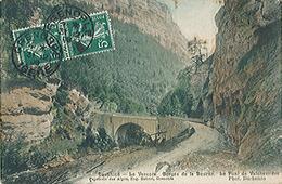 LE DAUPHINE - Le Vercors - Gorges De La Bourne - Le Pont De Valchevrière - Carte Postée - Altri