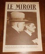 LE MIROIR. N° 294 .13 Juillet 1919. CEUX QUI ONT SIGNÉ POUR L'ALLEMAGNE : LE Dr BELL ET HERMANN MULLER - Libros, Revistas, Cómics