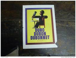 AFFICHE  DUBO...DUBON...DUBONNET De Cassandre...issue D´un Journal De L´ ILLUSTRATION De 1930 - Affiches
