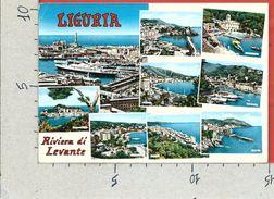 CARTOLINA NV ITALIA - LIGURIA - Riviera Di Levante - Vedutine - 10 X 15 - Andere Städte