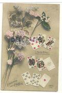 Le Langage Des Cartes. REX 4394 (Mariage Prochain). Jeunes Femmes, Fleurs. 1913 - Cartes à Jouer