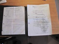 BREVET D'INVENTION - APPAREIL DISTRIBUTEUR AUTOMATIQUE DE VENTE - DEPOSE PAR STRA René De Bruxelles Rue De La Loi 174 - Vieux Papiers