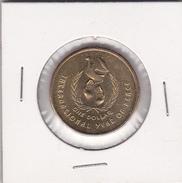 Australia 1986 International Year Of Peace $ 1.00 Coin - Decimal Coinage (1966-...)