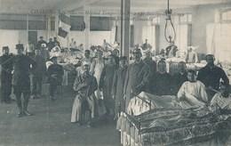 CPA - CHALON-s-SAONE Hôpital Temporaire N°2 ( St Antoine De Padoue ) Salle Des Blessés Allemands - Chalon Sur Saone