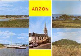 56 - ARZON Multivues CPM Non écrite - Arzon