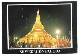 SHWEDAGON PAGODA MYANMAR  - VIAGGIATA 2003 -  (1771) - FORMATO GRANDE - Myanmar (Burma)