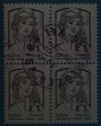 Bloc De 4 Timbres Marianne De Ciappa Et Kowena N° 4764 Oblitéré - 2013-... Marianne De Ciappa-Kawena