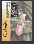 Cambodia, Scott #1989, Mint Hinged, Orchids, Issued 2000 - Cambodia
