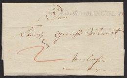 """""""R.3. Waiblingen"""", L1 Auf Tax. Brief Mit Inhalt, 1838 - Wuerttemberg"""