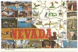 Nevada - The Silver State - Multiview - Etats-Unis