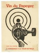 Rare // Vin Du Papegay, A.Grognuz, La Tour-de-Peilz, Vaud // Suisse - Etiquettes