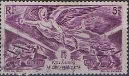 Africa Occidental Francesa Aereo Usado U 04 (o) Foto Estandar. 1946 - A.O.F. (1934-1959)
