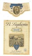 Rare // St.Saphorin, Roche Ronde,J & P. Testuz Treytorrens-Cully, Vaud // Suisse - Etiquettes