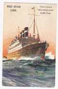 Red Star Line - Steamers
