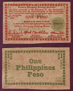 PHILIPPINES - Negros Emergency Currency Board - ONE PESO 1943 - Philippines