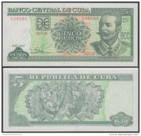 2015-BK-23 CUBA 5$ 2015 ANTONIO MACEO. UNC. - Kuba