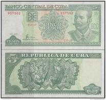 2001-BK-7 CUBA 2001 5$ ANTONIO MACEO. BANCO NACIONAL UNC. - Cuba