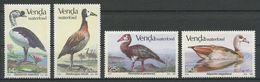 VENDA 1987 N° 150/153 **  Neuf MNH Superbes Cote 7 € Faune Oiseaux Aquatiques Birds Animaux - Venda