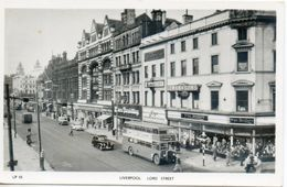 Royaume Uni. Liverpool. Lord Street - Liverpool