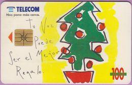 Télécarte Argentine °° Sapin De Noël-11 1995 - Argentine