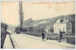 27 - Autheuil (environs) - Moulin De Saint-vigor - Non Classés