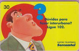 Télécarte Brésil °° Ligue 102 - 07 1999 - Brésil