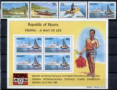 1980 - NAURU - Catg. Mi. 224/227 - NH - (R-SI.331.713 -  57) - Nauru