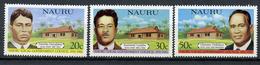 1980 - NAURU - Catg. Mi. 221/223 - NH - (R-SI.331.713 -  56) - Nauru