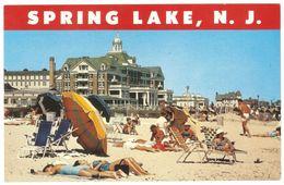 Spring Lake New Jersey - Beach - Essex-Sussex Hotel - Animated - Etats-Unis