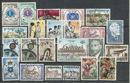 1967 - SUPERBE LOT De 39 Timbres + 2 Blocs - ANNEE COMPLETE - OBLITERES (o) - Nombreuses Oblit. RELAIS  HUY 11+ CADEAUX - Belgien
