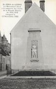 St Saint Jean-de-Losne, Monument élevé à La Mémoire Des Morts De La Grande Guerre - Edition L. Amiot, Carte Non Circulée - Monuments Aux Morts