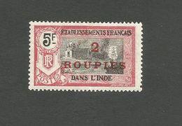 78 TIMBRE SURCHARGE Trace De Charniere  (clascamerou12) - India (1892-1954)