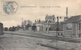 61 - ORNE / Condé Sur Huisne - 61640 - La Gare - Beau Cliché - France