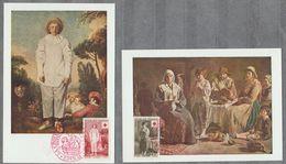 France Cartes Postale Premier Jour FDC Croix Rouge 1956 - 1950-1959