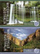 AUSTRALIA, 2008, Booklet 426/427. Waterfalls - Boekjes