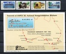 1982 - NAURU - Catg. Mi. 254/257 + BF6 - NH - (R-SI.331.713 -  58) - Nauru