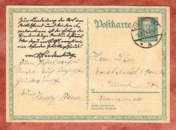 P 207 Hindenburg, Elsterberg Nach Planitz 1928 (41051) - Deutschland