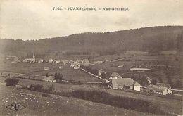 - Depts Div.-ref-RR360- Doubs - Fuans - Vue Generale  - Carte Bon Etat - - Altri Comuni