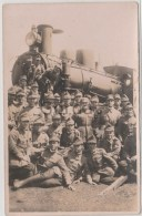 Romania - Steam Engine - Military Train - Trains