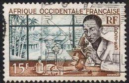 Africa Occidental Francesa Usado U 48 (o) Foto Estandar. 1953 - A.O.F. (1934-1959)