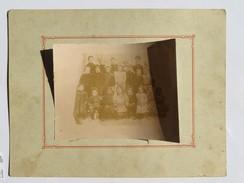 Grande Photographie D'un Groupe D'enfants, Fin XIX E , Début XXé - Personnes Anonymes