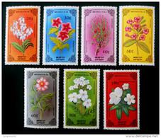 PLANTES RARES 1986 - NEUFS ** - YT 1400/06 - MI 1784/90 - Mongolië