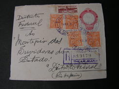 Brasil , Nice Only Front Part Of Cv.1933 - Ganzsachen