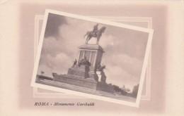 Italy Roma Rome Monumento Garibaldi