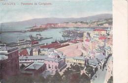 Italy Genova Panorama da Carignano