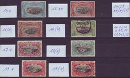 CONGO BELGE - 14 / 29 ** / * / (o) (LOT) - Cote ** 17,50 Euro; Cote * 49,75 Euro; Cote (o) 243,25 Euro (JM/Q40) - Congo Belge