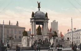 England Liverpool The Queen's Memorial
